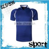 Customized blank short sleeve design plain rugby shirts made in china                                                                                                         Supplier's Choice