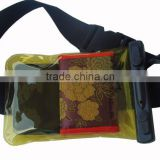 2013 pvc waterproof waist pack dry case for wallet camera cell phone ocean beach dry bag factory