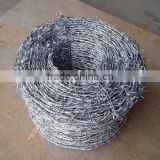 hot sale galvanized barbed wire barbed wire weight per meter barbed wire price per roll