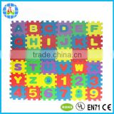 alphabet numbers baby foam jigsaw puzzle mat for education use                                                                         Quality Choice