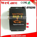 Wecaro WC-DT629S mobile digital tv tuner receiver box mpeg-4 car dvb-t receiver for Finland