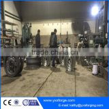 Forged Trolley hoist crane monorail trolley wheel