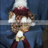 Christmas Decoration Supplies New Year Party voile Siddhasana Gift Ornament Animal Puppet Wholesale