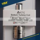 Authentic horizon tech BTDC 0.2/0.5ohm coil arctic tank horizon for 30~100watts vaporizer with Factory price