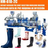 Full automatic PVC two color rain boot injection moulding shoes machine                                                                         Quality Choice