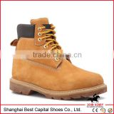 rubber work boots /Oil water resistant Working boots/rubber outsole shoes