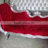2015 antique luxury italian couch classic leisure lounge european style chaise bedroom royal lounge A002