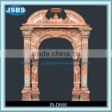 column carved cheap marble door frame design