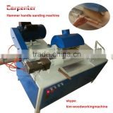 CBJ-S automatic feeding and semi automatic wooden hammer handle sanding machine