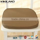 2015 New Design Dining chair pads shiny colorful PU leather seat cushion                                                                         Quality Choice