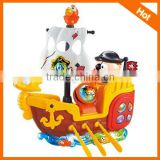 2013 Hot selling Kids battery boat cartoon battery operated boat