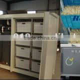 Automatic Bean sprout machine Steel structure, panels with insulation labor-saving, easy to operate