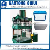 CE Certification four columns hydraulic press for glass reinforced plastic CNC meter box