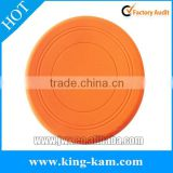 Outdoor Silicone Pet Toy Circular Frisbee For Dogs silicon soft flying frisbee