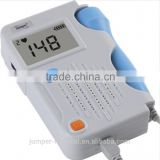 Medical equipments portable ultrasound machine Jumper JPD-100B+ fetal dopplers with Large size lcd display FHR
