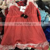 wholesale high quality used chilren clothing used children summer wear