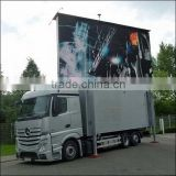 Outdoor Mobile Advertising LED Truck/ big advertising vehicle