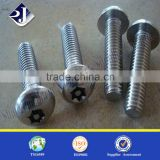Anti theft screws pan head 28 T.P.I machine gap anti-theft slot screws screw making machine prices