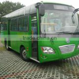 7.3m diesel fuel Euro 3 mini bus 25 seater bus with double doors for sale HM6730