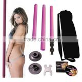 Dance Pole Full Kit 50mm Portable Stripper Exercise Fitness Club Party Dancing