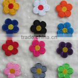 Small flower embroidery badges to baby's dress