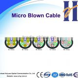 Layer stranding micro air blowing cable 24 core~ 96 core communication fiber optic cable