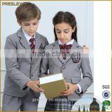 Presley OEM wholesale kids school uniforms with school logo cotton blazers