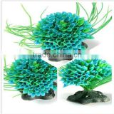 2015 New Hot Sale Artificial Water Green Plant Simulation Water Grass for Fish Tank Aquarium Plastic Decor Ornament