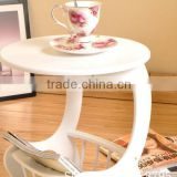 Tea table Wooden tea able Modern Design Wooden Tea Table Mini white South Korea style small tea table