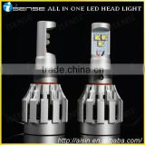 2014 June Newest 24W led motorcycle headlight H4 H7 H9 H11 H13 9005 9006 crees led headlight