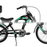 Hot selling aluminum alloy 26 inch fat tire electric chopper bicycles / mountain bike
