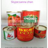 210g round tinned/canned tomato paste wholesalers,good price,bright red ,brix18%-20%,22%-24%,28%-30%