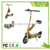 Promotional upgraded electric scooter with CE/FCC/RoHS certificates