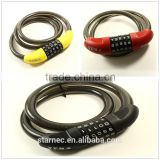 New Product Key Lock Cable For Bike