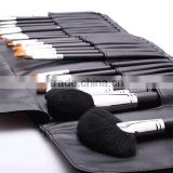 26pcs black professional cosmetic tool kit/makeup brush set wholesale/make up brushes natural hair/tool bag products china