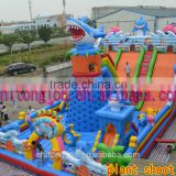 Certificated Durable Colorful Inflatable Bouncer Amusement Park Bouncy Castle With Cartoons                                                                         Quality Choice