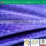 China supplier crocodile wholesale embossed upholstery velvet fabric ZJ011-2