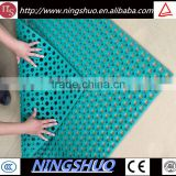 Food service commercial rubber anti slip anti fatigue kitchen floor mat