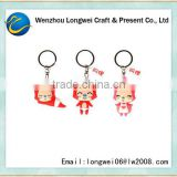 fox shaped key ring hook/bmw key ring/key ring making machine