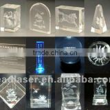 3D laser engraving and marking printer for crystal gift