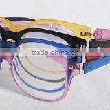 Custom super thin reading glasses,high quality Ultem material light weight reading glasses.FDA CE