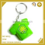 Made in china custom logo mini guitar keychain wedding gift