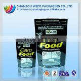 custom wholesale bulk dog food plastic package waterproof