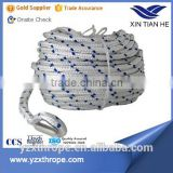 Double-braided polyester boat/ship/yacht sailing ropes