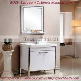 ROCH 8056 Modern Stainless Steel Eco-friendly Lacquer Bathroom Vanity