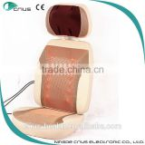 Heating optional car seat cushion made of breathable mesh