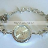 Fashion bracelet with Japanese battery watch