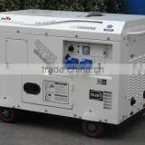 BISON CHINA portable silent type diesel generator set 10kv electric generator                                                                                                         Supplier's Choice