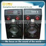 Factory direct selling super dj bass speaker speaker box 2.0 active speaker speaker portable