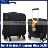 Spinner Caster PA Nylon Suitcase Material Spinner Soft Luggage With Cup Holder